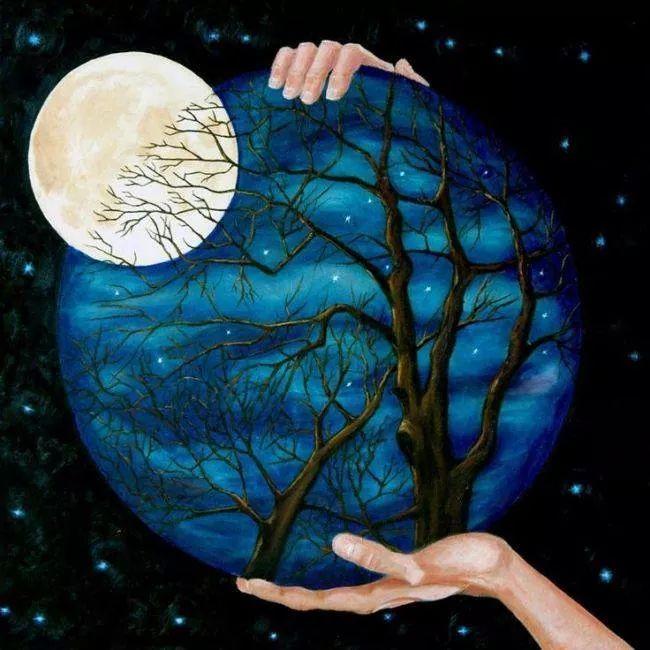 Meditación de enraizamiento Luna Llena
