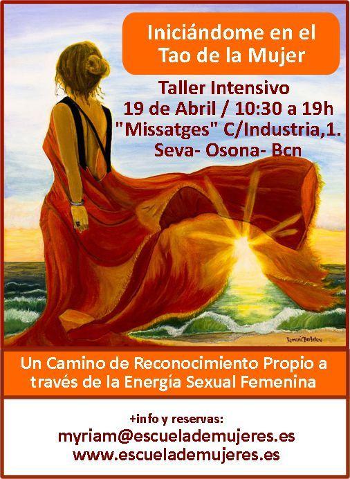 Iniciación al Tao de la Mujer 19 Abril